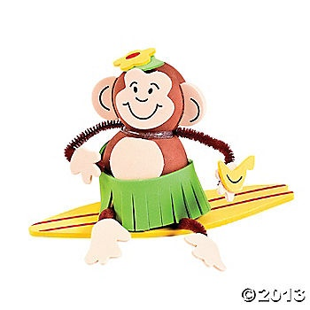 Monkey On A Surfboard Craft