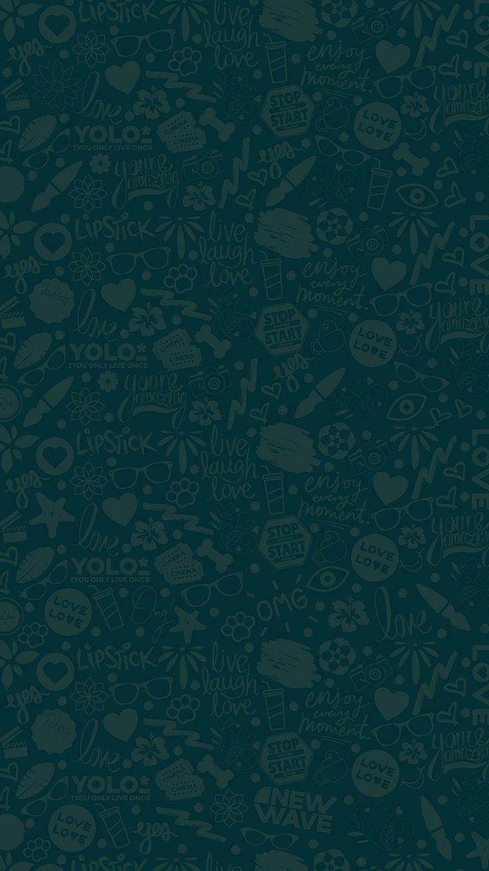 Pin de Lutfiatul Hafizoh em Wallpaper ponsel Whatsapp