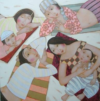 beautiful art of Cecile Veilhan
