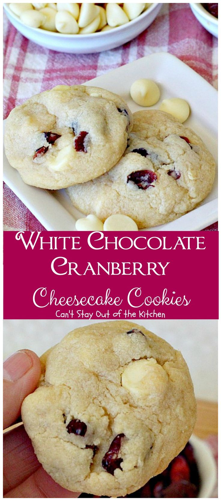 Top 25+ best White chocolate cranberry cookies ideas on Pinterest ...