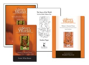 Story of the World, Vol. 1 Combo Pack (1 of everything for Volume 1!)