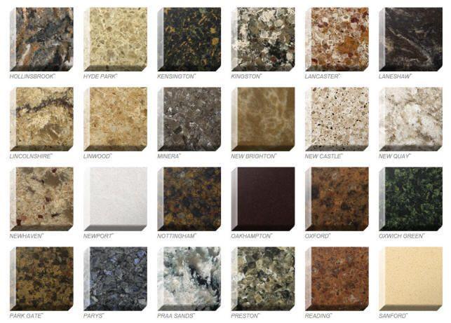 Cambria Color Samples Quartz Countertops Colors