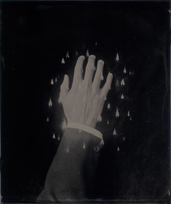 Ben Cauchi. The Burning Hand Reversed