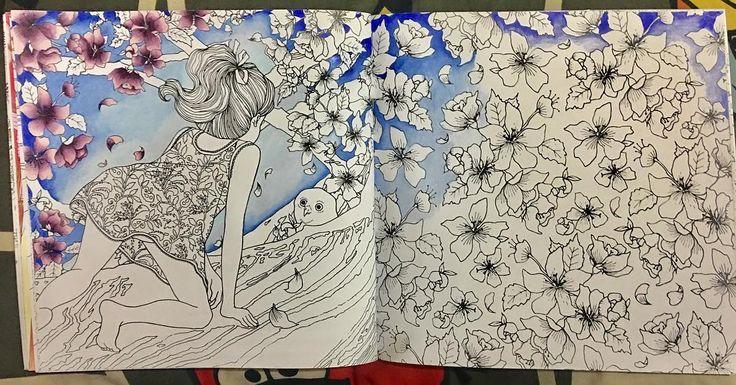 Latest wip! #dariasong #thetimegarden #dariasongthetimegarden #thetimegardencoloringbook @daria486 #coloringbook @colorplaner #artwork #blackandwhite #flowers #illustration #sketch #sketching #sketchbook #zenart #zentangle #draw #drawing #doodleart #doodle #doodler #doodles #doodlers #doodling #tattoo #tattoart #pattern #abstract #coloringbooks #coloring #colorplaner #prisma #thetimegardencoloringbook