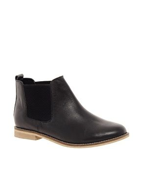 ASOS ABACUS Leather Chelsea Ankle Boots