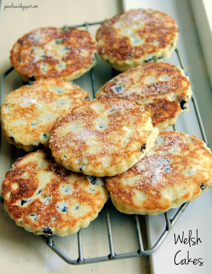 Welsh Cakes. What a novel, sweet treat! Would be great with the fruit butters I found yesterday!