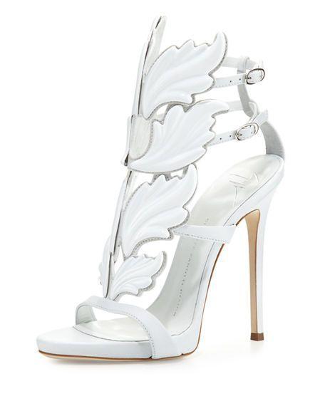 10feb91fa63 GIUSEPPE ZANOTTI Coline Wings Suede 110Mm Sandal.  giuseppezanotti  shoes   sandals  GiuseppezanottiHeels