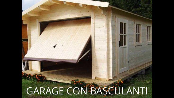 17 migliori immagini su garage in legno garage for Ampio garage per auto