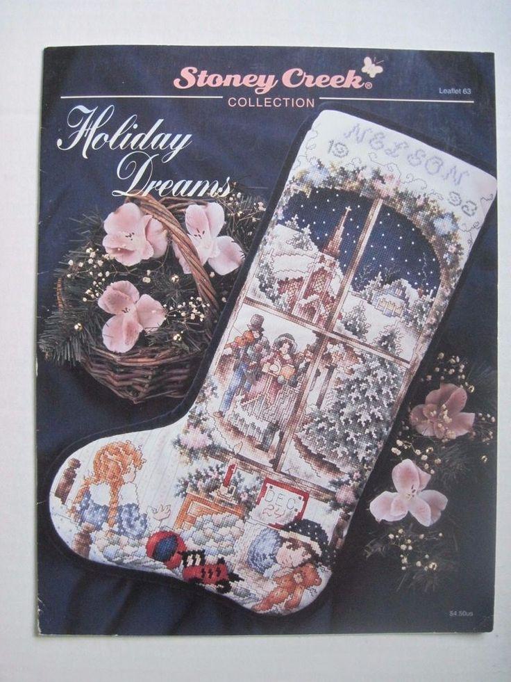 Bucilla Needlepoint Christmas Stocking Kits