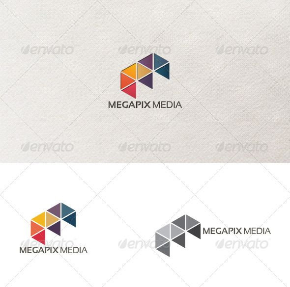 Megapix - Logo Template
