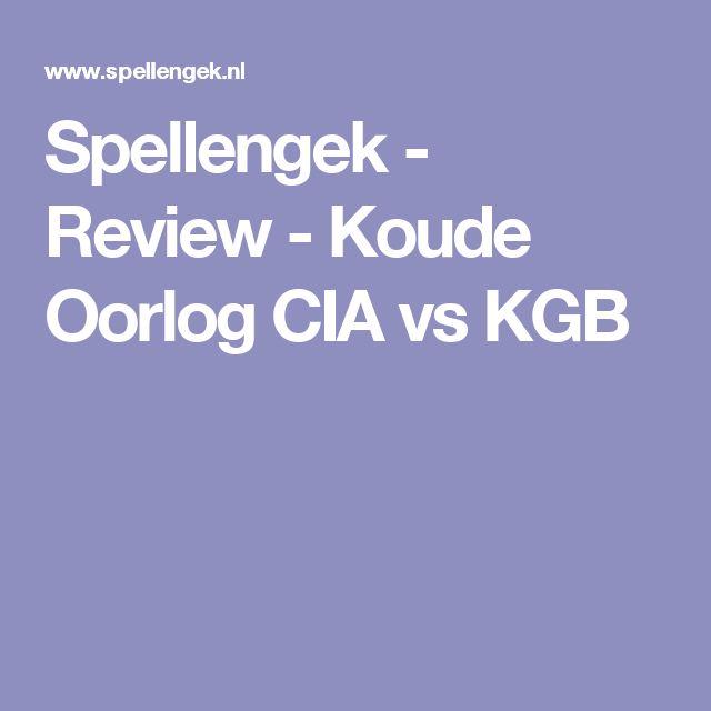 Spellengek - Review - Koude Oorlog CIA vs KGB