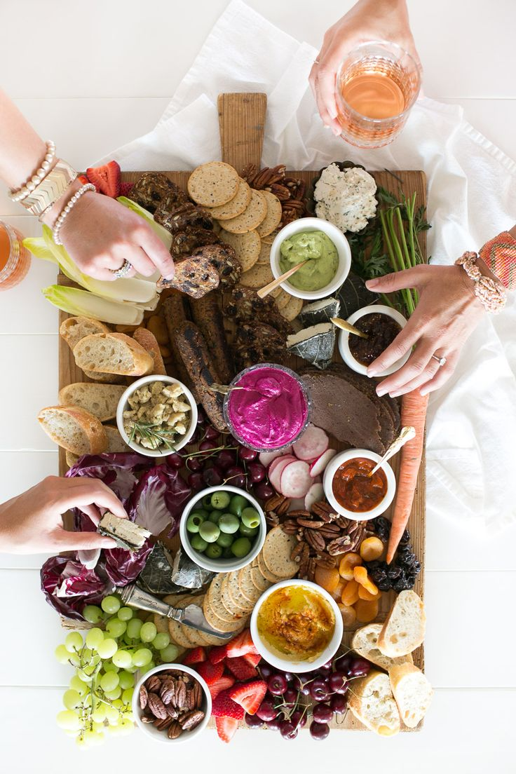 Vegan Charcuterie Board // Jillian Harris