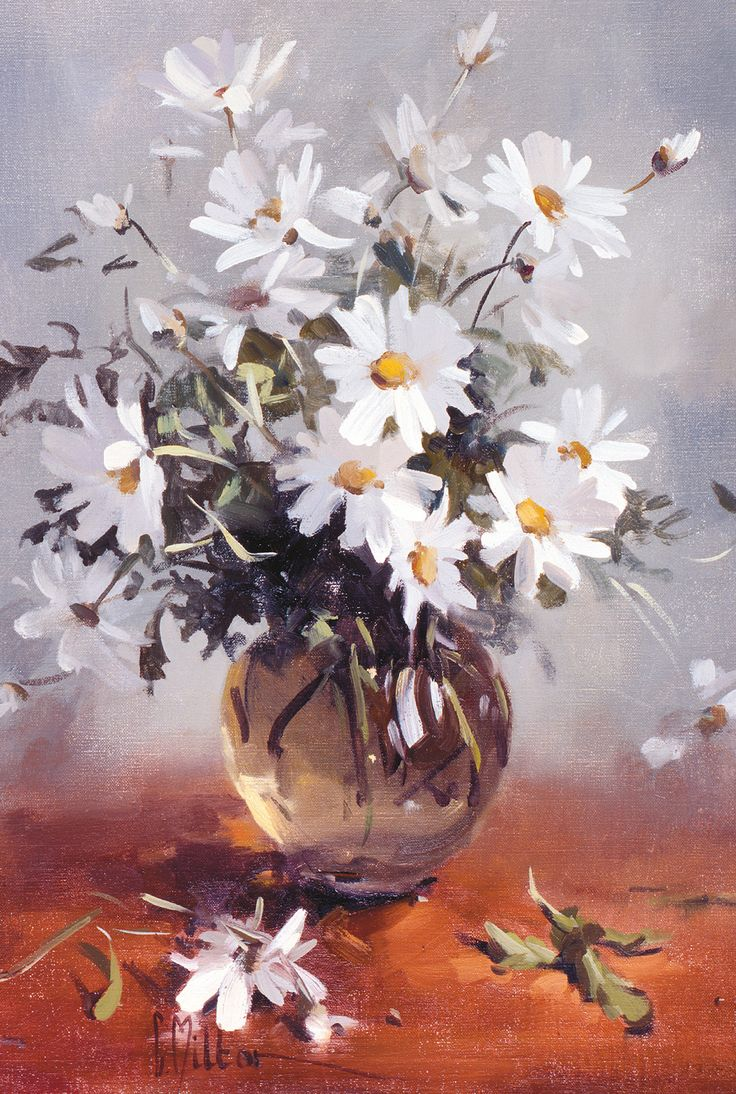 White Daisies by Carole Milton  Carole Miltons Classic Images