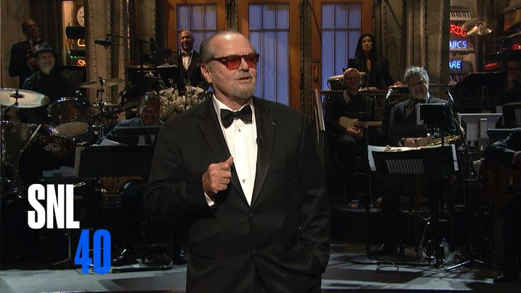 Jack Nicholson introduces a look back at SNL's coverage of politics, including impressions of President George H. W. Bush, Sarah Palin, President Bill Clinton and more. Politics - SNL 40th Anniversary Special