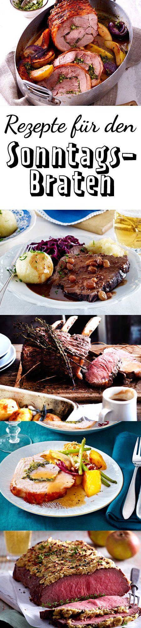 Welcher Sonntagsbraten hat bei dir Tradition?