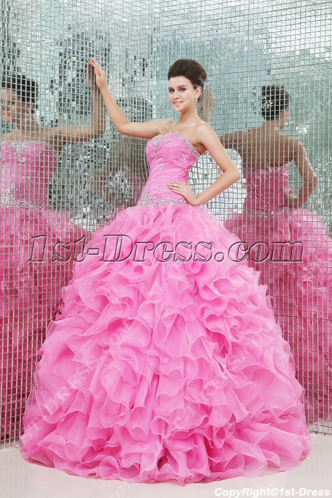 Mejores 54 imágenes de Pink Quinceanera Dresses en Pinterest ...