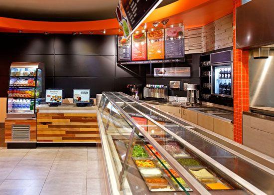ARE Award Winner South St Burger Fast Casual Environmental Design 5 Restaurant KitchenRestaurant InteriorsRestaurant