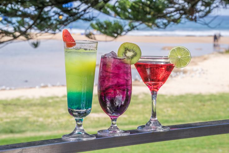Enjoy drinks while sitting out in our Deck Bar