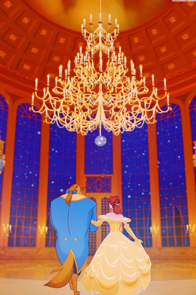 Beauty and the beast  disney wallpaper  wallpaper for phone  Pinte