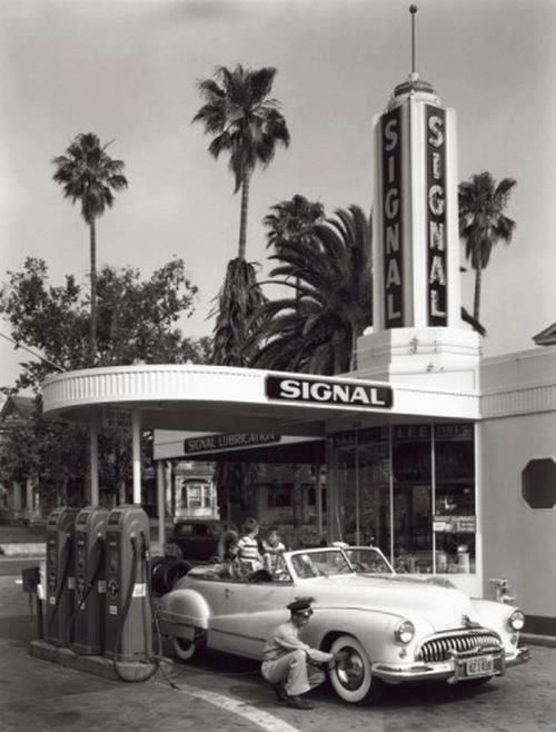 Gas Service Stations