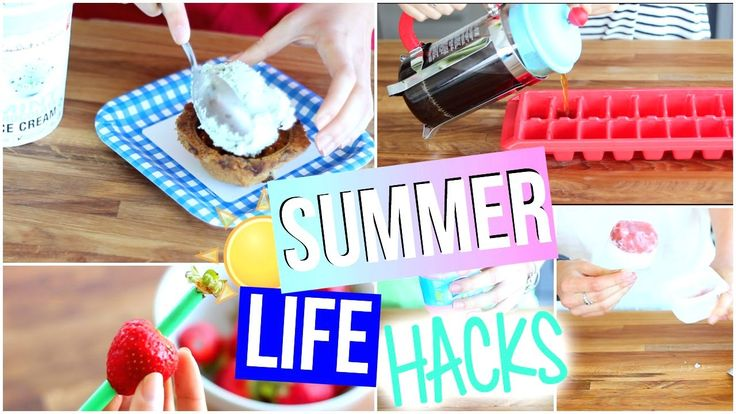 Life hacks everyone must know, Life Hacks you NEED to know, Summer Life Hacks, DIY Life Hacks, Life Hacks for Summer, Life hacks you need to try, Life Hacks for Girls, Life Hacks every girl should know!