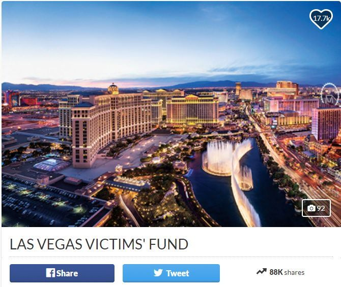 A Go Fund Me page was set up this morning for the victims of the Las Vegas massacre. Clark County Nevada officials set up the Go Fund Me page this with a goal of reaching $1 million in donations to provide relief and financial support to the victims and families of the horrific Las Vegas …