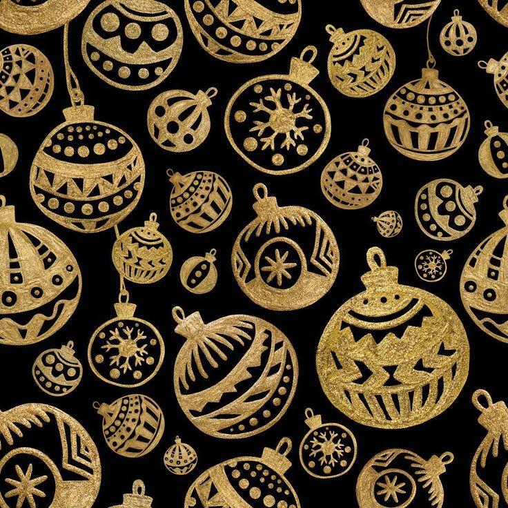 С Новым Годом!!🎄🎆💫 #happynewyear #pattern #illustration #gold #abstract #xeniagovorukhina #seamless #xmas #balls #golden #handdrawn #art #winter #xg_art #xg_bird #surfacepattern #textiledesign