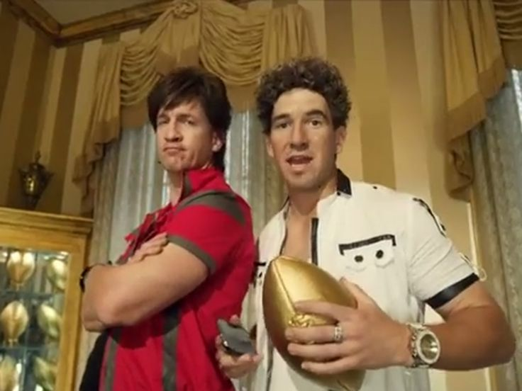 The New Manning Brother DirecTV Commercial