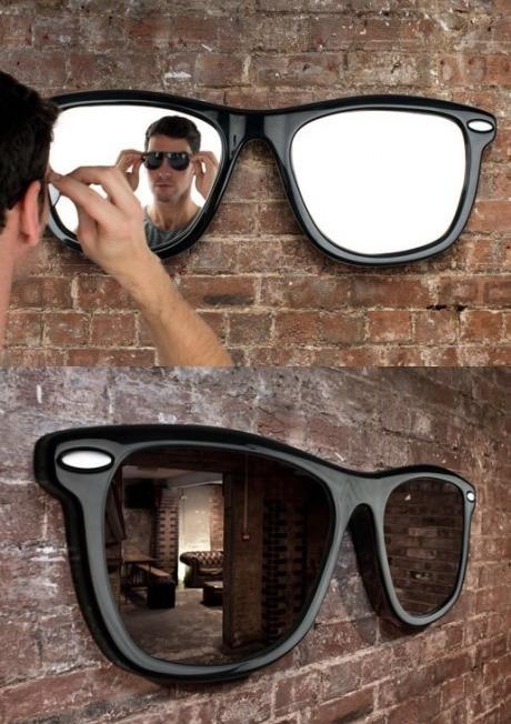 Shades mirror