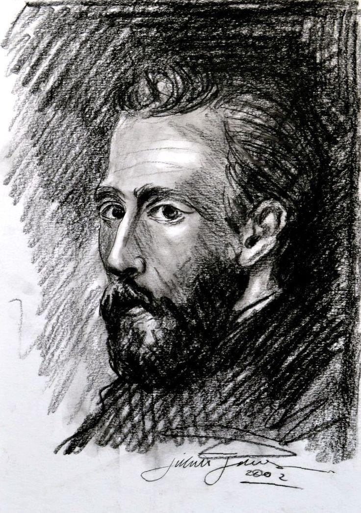 Vincent Van Gogh - 2002 - Lápis Conté