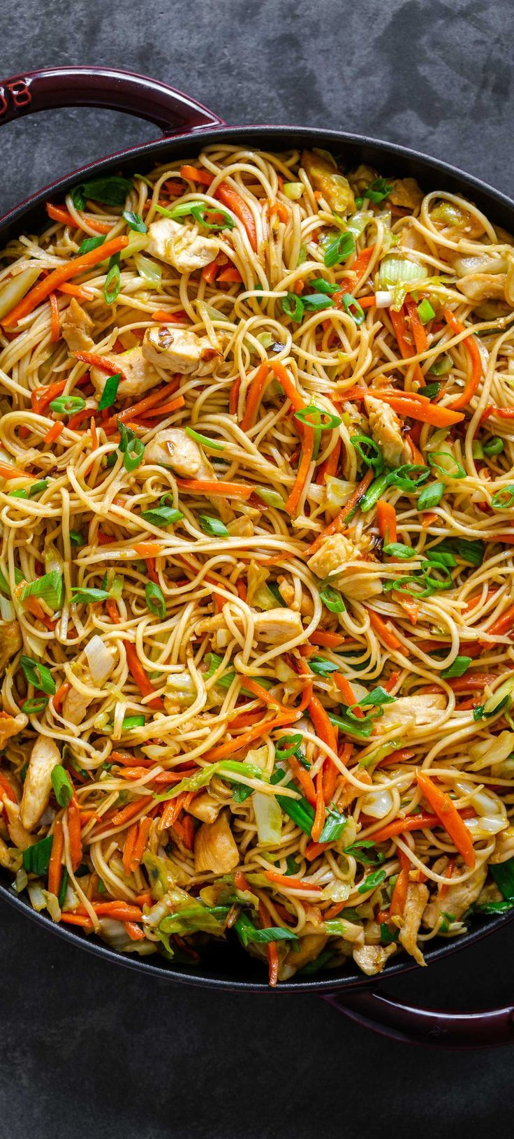 Chicken Chow Mein With Best Chow Mein Sauce Natashaskitchen Com Homemade Chow Mein Chow Mein Recipe Noodle Recipes Easy