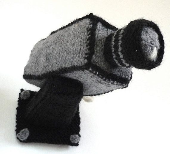 Handknit security camera