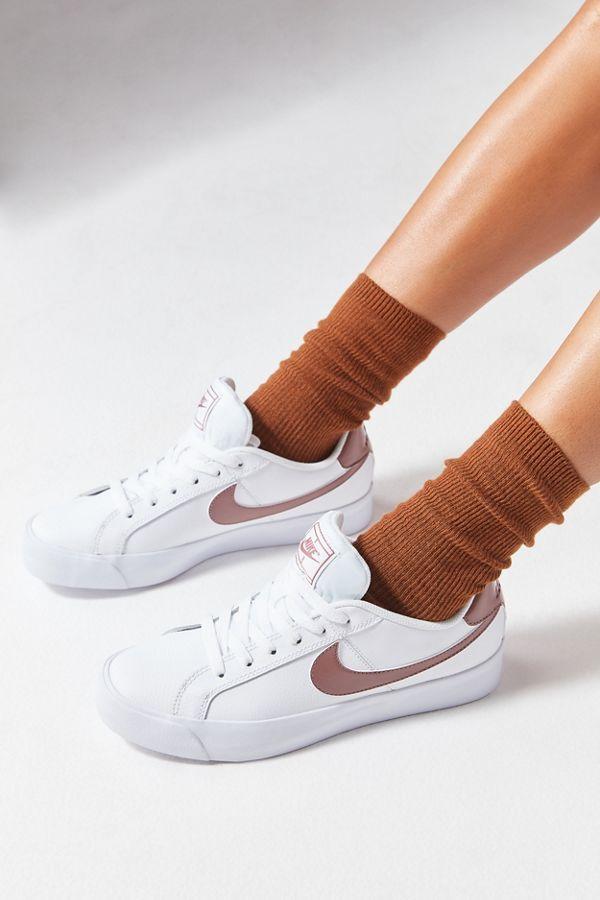 basket nike court royal femme noir