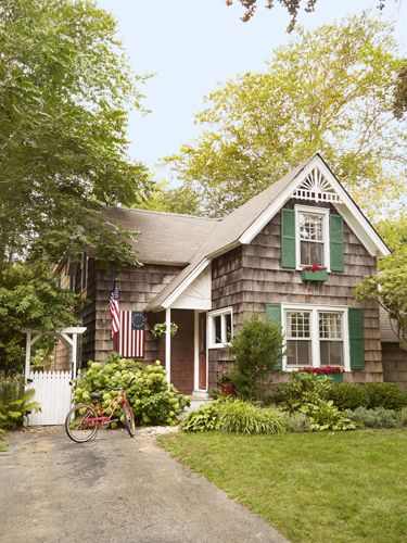 Easy upgrades and cozy furniture fill this cottage with personality at every turn.