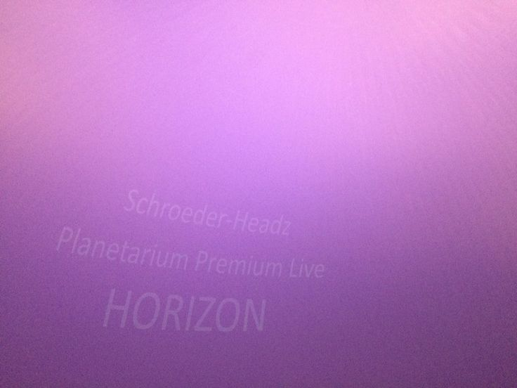 2017.12.17 『ハローグッバイ』音楽の渡辺シュンスケさんのユニットSchroeder-Headz Planetarium Premium Live 「HORIZON」 @多摩六都科学館  に行ってきました!最近のモヤモヤを浄化してもらいましたよ〜。