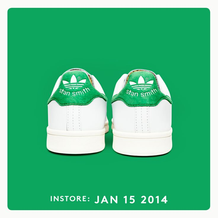 The return of an @adidas Originals icon.  #StanSmith is back and #allin on January 15th.