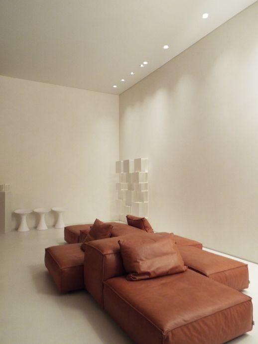 Living, ambientazione #resina www.stanzedautore.it