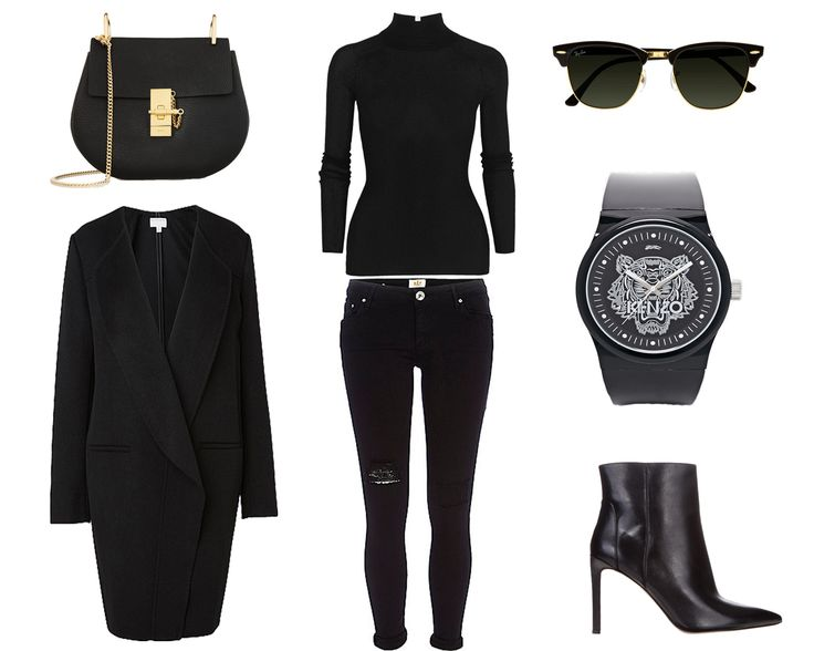 All black outfits - What Would Karl Do  http://whatwouldkarldo.com/all-black-outfits-street-style/