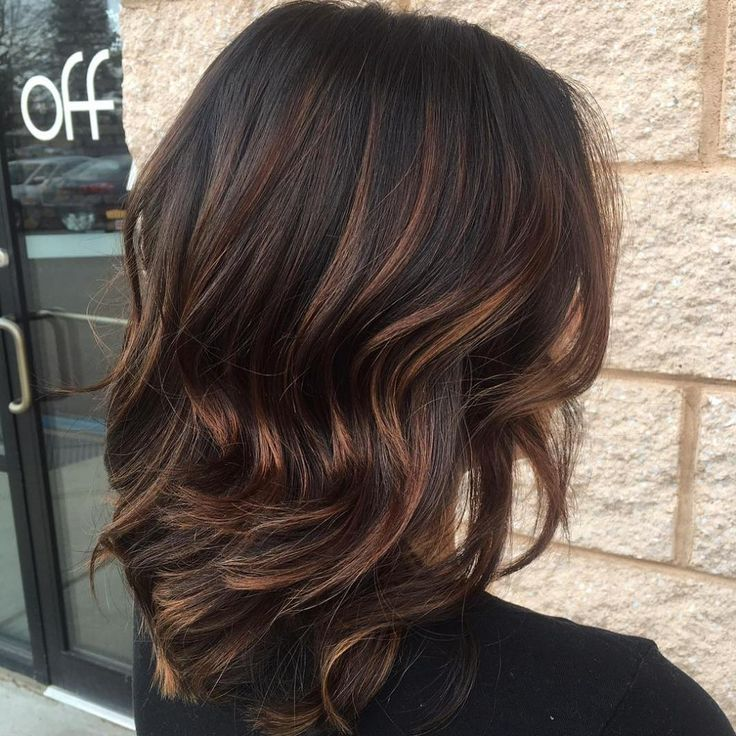 The 25 best highlights for black hair ideas on pinterest black 60 chocolate brown hair color ideas for brunettes pmusecretfo Images