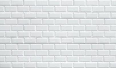 white ceramic brick tile wall