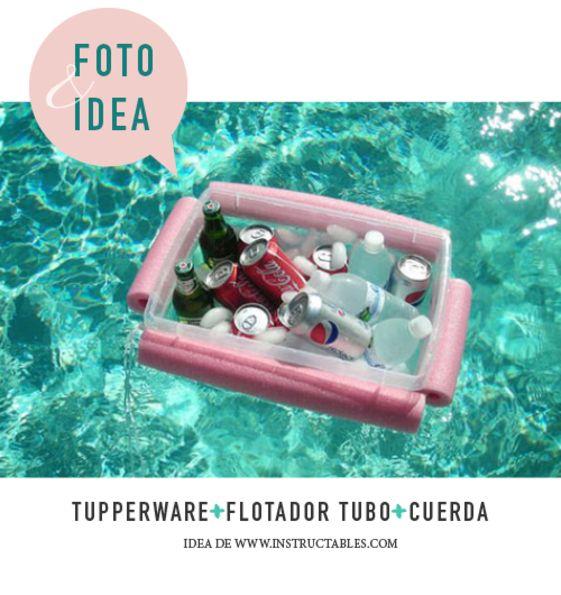 Cooler flotante | Laralá - Un sitio, mil ideas