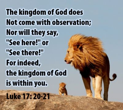 Kuvahaun tulos haulle Luke 17:20-21