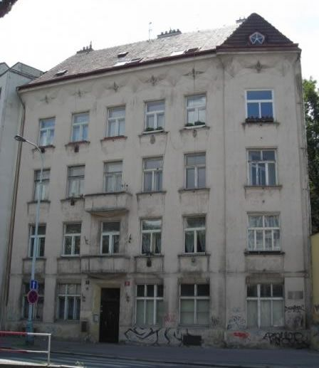 Palazzina Bayer - Architetto Josef Chochol - 1913 - Praga, strada Neklanove 56 / 2