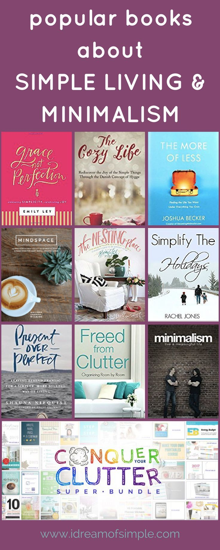 10 Popular Books That Will Inspire Simple Living And Minimalism