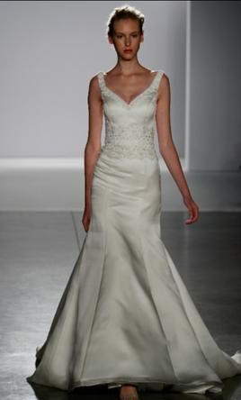 Priscilla of Boston 4110: buy this dress for a fraction of the salon price on PreOwnedWeddingDresses.com