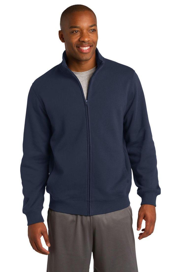 Sport-Tek Full-Zip Sweatshirt. ST259 Black / 3XL