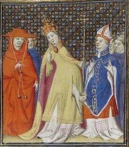 Giovanni Boccaccio, De Claris mulieribus; Paris Bibliothèque nationale de France MSS Français 598; French; 1403, 151r. http://www.europeanaregia.eu/en/manuscripts/paris-bibliotheque-nationale-france-mss-francais-598/en