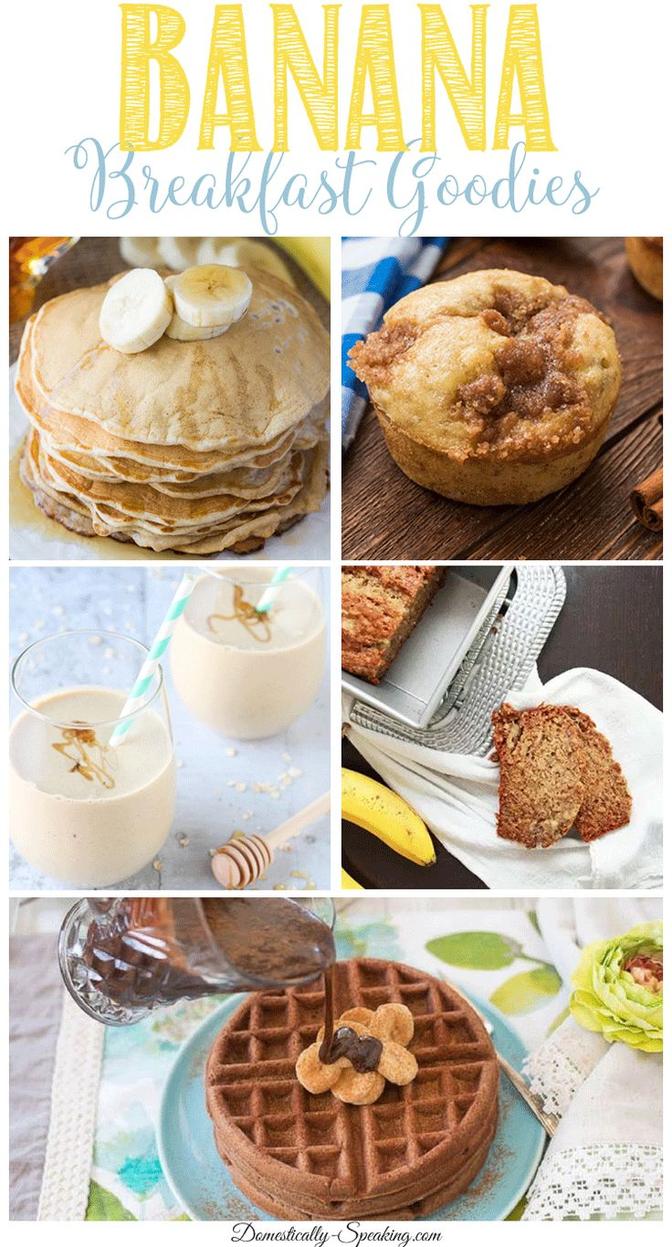 East Banana Breakfast Recipes | Smoothies | Oatmeal | Pancakes | Muffin and Bread
