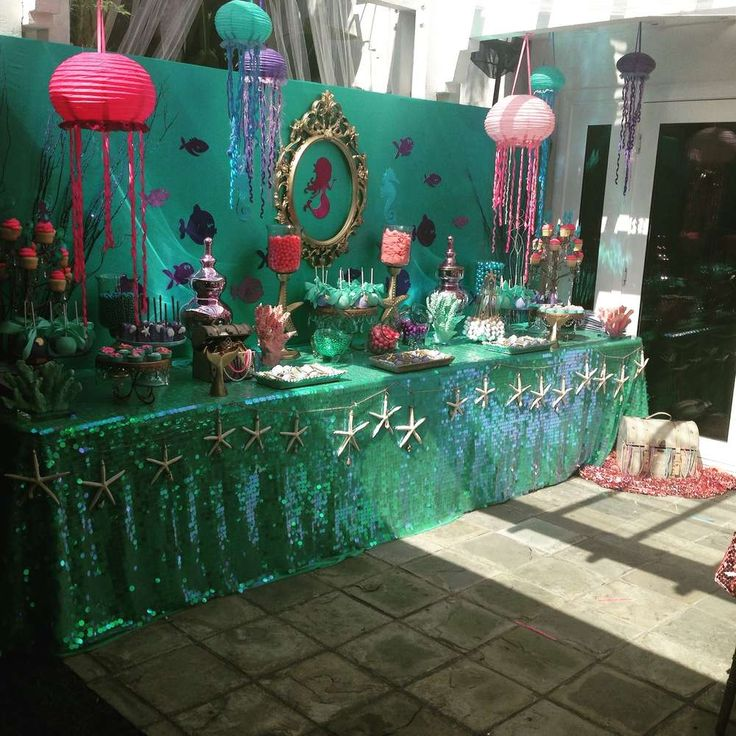 Gia's 5th Mermaid Party | CatchMyParty.com