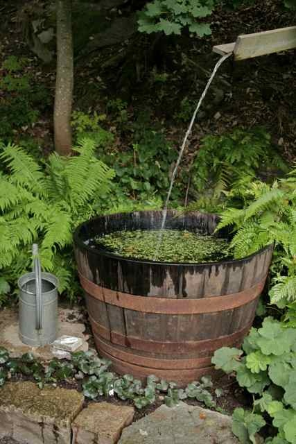 17 best images about gettin a purty yard on pinterest for Simple water features for backyard